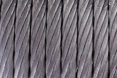 Steel cable. texture stock photo