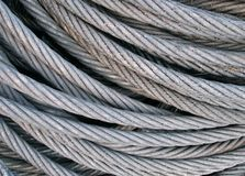 Steel Cables Stock Images
