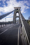 Steel Cables of Clifton Suspension Bridge, Bristol, UK Royalty Free Stock Images