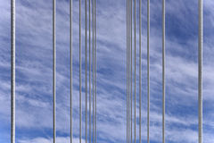Steel Cables Royalty Free Stock Image