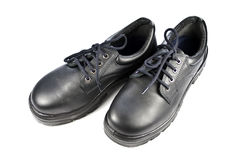 Steel Cap Safety Shoes Stock Photos