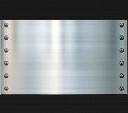 Steel and carbon fiber background Stock Photos