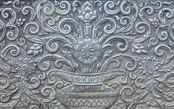 Steel carving. Art culture in asia Royalty Free Stock Images