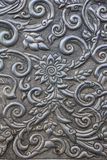 Steel carving. Flower art culture Royalty Free Stock Images