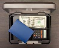 Steel cashbox Stock Photos