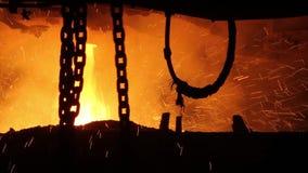 Steel-casting department