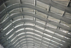 The steel ceiling Stock Photo
