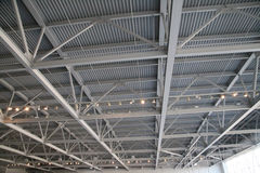 Steel Ceiling Structure Royalty Free Stock Images