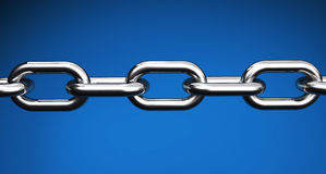 Steel Chain Business Links Concept Royalty Free Stock Photo