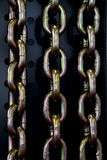 Steel chain links Stock Photos