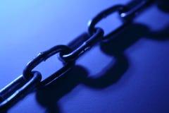 Steel chain links stock photos