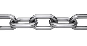 Steel Chain Links Concept Royalty Free Stock Photo