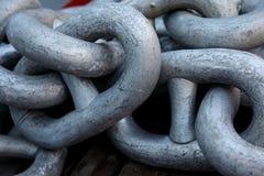 Steel chain Stock Photos