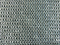 Steel Chain Mail Texture. Steel Chain Mail Textire. Focus on centre Stock Images