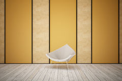 Steel chair Royalty Free Stock Photos