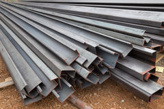 Steel channel (steel C chanel) Royalty Free Stock Photo