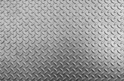 Steel checker plate texture and anti-skid.  stock image