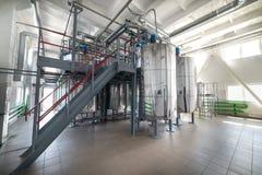 Steel chrome cisterns. Stock Photos