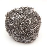 Steel cleaning sponge Royalty Free Stock Photos