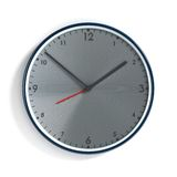 Steel clock Royalty Free Stock Photography