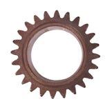 Steel cogwheel isolated on white background Royalty Free Stock Image