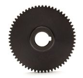 Steel cogwheel Stock Images