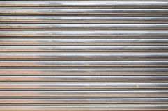 The Steel Coiling Door Royalty Free Stock Photo