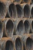 Steel coils Stock Photos