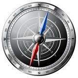 Steel Compass Royalty Free Stock Photo