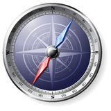 Steel Compass Royalty Free Stock Image