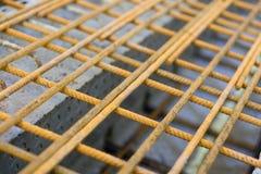 Steel and concrete stock photos