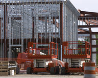 Steel construction Royalty Free Stock Photography