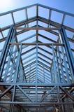 Steel construction royalty free stock photos