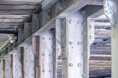 Steel construction Royalty Free Stock Image