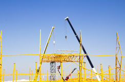Steel construction Stock Images