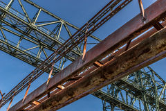 Steel construction Royalty Free Stock Photo
