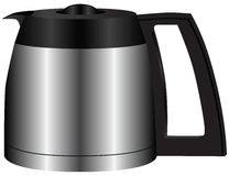 Steel container for coffee Royalty Free Stock Photo