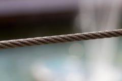 Steel cord Royalty Free Stock Photo