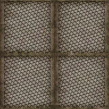 Steel cover (Seamless texture) Royalty Free Stock Photo