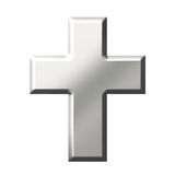 Steel Cross Royalty Free Stock Photo
