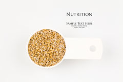 Steel cut oats Royalty Free Stock Photography