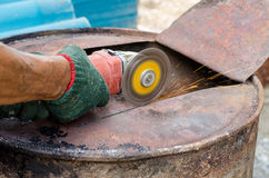 Steel cutter Royalty Free Stock Photos