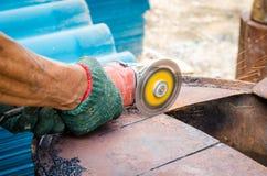 Steel cutter Stock Photos
