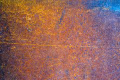 Steel Dark worn rusty metal texture background Royalty Free Stock Images