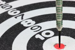 Steel dart Royalty Free Stock Photography