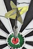 Steel dart Stock Photo