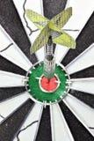 Steel darts Stock Photo