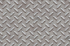 Steel diamond plate background Stock Image