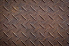 Steel diamond plate texture. Background Royalty Free Stock Photo