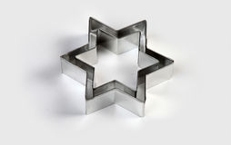 Steel dies star-shaped Royalty Free Stock Photography